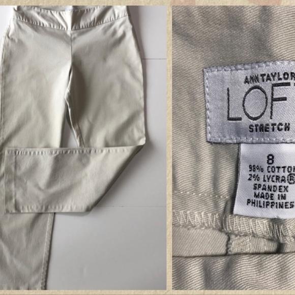 Ann Taylor Loft Size 8 Stretch Women's Pant